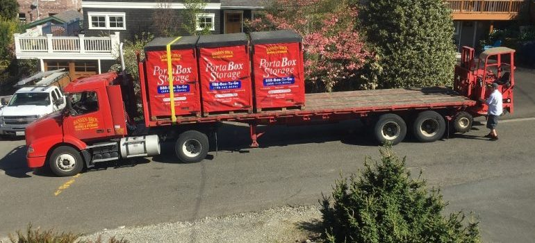 West Seattle self-storage PortaBox delivery