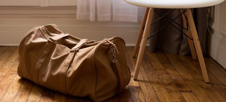 An essentials bag to make switching homes more simple.