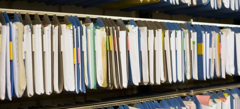 Having organized records is how self-storage benefits commercial property managers